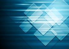 Technical blue vector background stock illustration