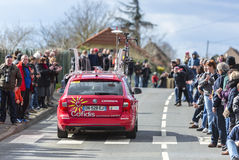 The Technical Car of Cofidis Team- Paris-Nice 2016 Royalty Free Stock Photo