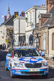 Technical Car of FDJ Procycling Team Royalty Free Stock Images