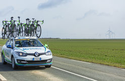 Technical Car of Orica GreenEDGE Team - Paris-Nice 2016 Royalty Free Stock Photography