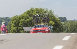 Technical Car - Tour de France 2017 Stock Image