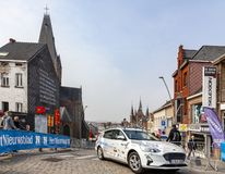 Technical Car - Tour of Flanders 2019 royalty free stock photo