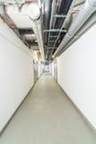 Technical corridor Royalty Free Stock Image