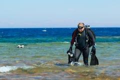Technical Diver Stock Photos