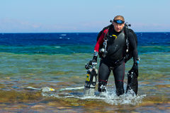 Technical Diver Stock Images
