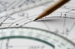 Technical draw Royalty Free Stock Photo