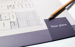 Technical Drawing. Royalty Free Stock Photography