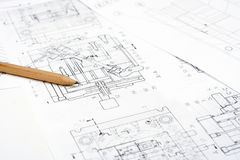 Technical Drawing Stock Photos