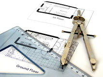 Technical drawing Stock Images