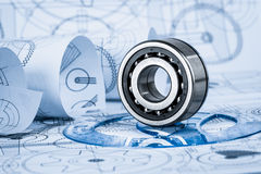 Technical drawings Royalty Free Stock Photography