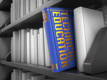 Technical Education - Title of Book. Educational Stock Image