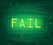 Technical fail concept. Stock Images