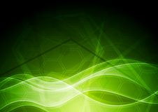Technical green backdrop Royalty Free Stock Image