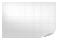 Technical grid background. Realistic blank paper with square grid. Technical grid background. Realistic blank paper with square grid Stock Photography