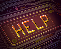 Technical help concept. Royalty Free Stock Photography