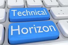 Technical Horizon concept Royalty Free Stock Photography