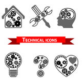 Technical icon Stock Images