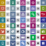 Technical icons Stock Image