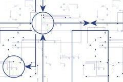 Technical illustration Stock Photography