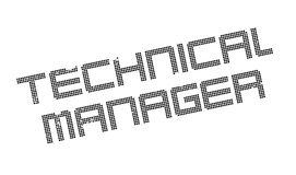 Technical Manager rubber stamp Stock Photos