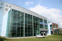 Technical museum Brno Royalty Free Stock Photos