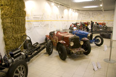 Technical museum brno _ racing history Royalty Free Stock Photography