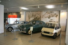 Technical museum Brno_automobiles Stock Images