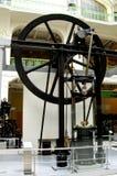 Technical Museum in Munchen (Technische Muzeum in Munchen). Vintage steam engine in the Technical Museum in Munchen. Old technical device Royalty Free Stock Photography