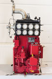 The technical museum in Vienna exhibits the production of energy industry machinery. Royalty Free Stock Images