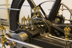 The technical museum in Vienna exhibits the production of energy industry machinery. Stock Photos