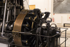The technical museum in Vienna exhibits the production of energy industry machinery. Stock Photography