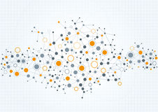 Technical Network Abstract Background Royalty Free Stock Photos