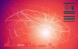 Technical Planning - Abstract - Illustration Stock Photography
