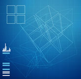 Technical Planning - Abstract - Illustration Stock Photo