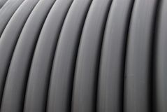 Technical rubber hose texture Stock Image
