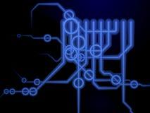Technical schematics Stock Photo