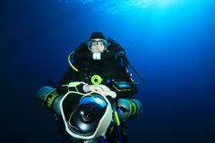 Technical Scuba Diver Royalty Free Stock Image
