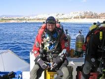 Technical Scuba Diver Stock Image