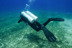 Technical scuba diver Royalty Free Stock Photography