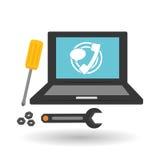Technical service. call center icon. support concept Stock Photos