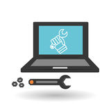 Technical service. call center icon. support concept Stock Photography