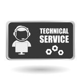 Technical service. call center icon. support concept Royalty Free Stock Photo
