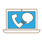 Technical service computers icon Royalty Free Stock Photo