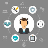 Technical service design. Stock Images