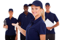 Technical service worker Stock Image