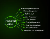 Technical Skills. Needed for successful business Royalty Free Stock Photos