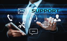 Free Technical Support Center Customer Service Internet Business Technology Concept Royalty Free Stock Images - 102190919