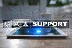 Technical support. Customer help. Business and technology concept. Stock Photos