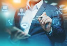 Technical Support Customer Service Business Technology Internet Concept royalty free stock photography
