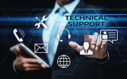 Technical Support Customer Service Business Technology Internet Concept Royalty Free Stock Image